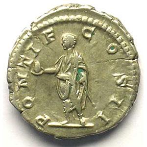 R/ PONTIF COS II   (Rome 208)    TTB