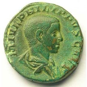 R/ PRINCIPI IVVENT   (Rome 244-246)    TB+/TTB