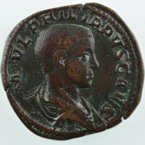 R/ PRINCIPI IVVENT   (Rome 244-246)    TTB/TTB+