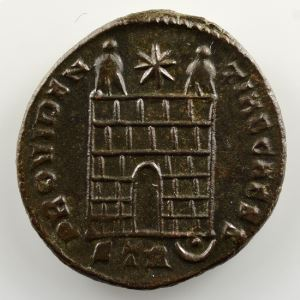 R/ PROVIDENTIAE CAESS  (Trèves / Trier 325-326  2° officine)    SUP