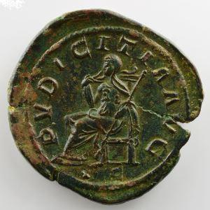 R/ PVDICITIA AVG SC  (Rome 244-245)    TTB+