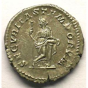 R/ SECVRITAS TEMPORVM   (Rome 217)    TTB+/SUP