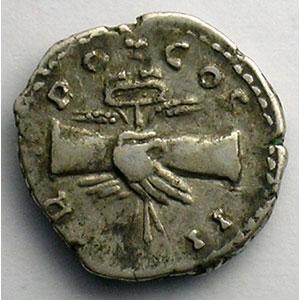 R/ TR POT COS II   (Rome 139)    TB+