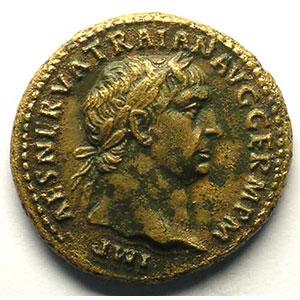 R/ TR POT COS II SC   (Rome 98)    TB+/TTB