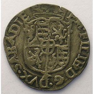 Soldo   Emmanuel Philibert  (1559-1580)   1569 EB  étoile  (Chambéry)    TTB