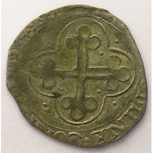Soldo   Emmanuel Philibert  (1559-1580)   1574 ED étoile  (Chambéry)    TB