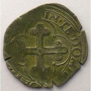 Soldo   Emmanuel Philibert  (1559-1580)   date illisible  V  (Vercelli)    TB