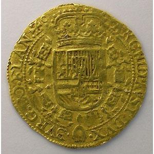 Souverain d'or   Philippe IV (1621-1665)   1650 Bruges    TTB