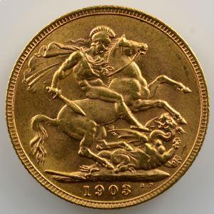 Souverain / Sovereign   1903 (Londres)    SUP