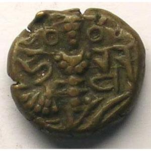 Statère de bronze  (10°-11° siècle)    TTB
