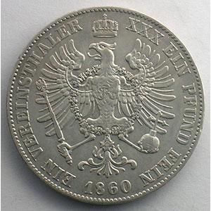 Taler   1860 A    TTB