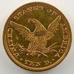Ten D.   1847 (Philadelphie)   Liberty Head    TB+/TTB