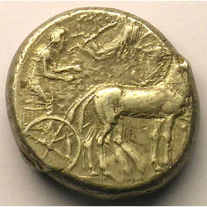 Tétradrachme   (474-450 av.JC)    TTB