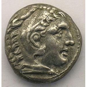 Tétradrachme   AMPHIPOLIS (Macédoine)   315-294 av.JC    TTB+