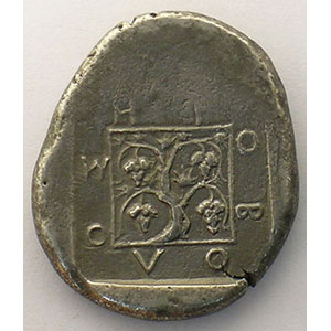 Tétradrachme   Magistrat Erobolos   410-397 av.JC    TB+/TTB