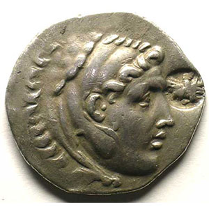Tétradrachme posthume   ALABANDA (Carie)   173-167 av.JC    TTB