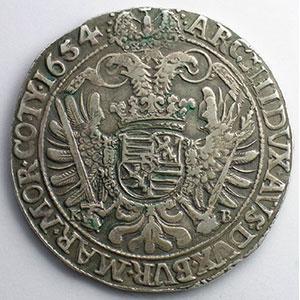 Thaler   1654 KB (Kremnitz)    TTB+