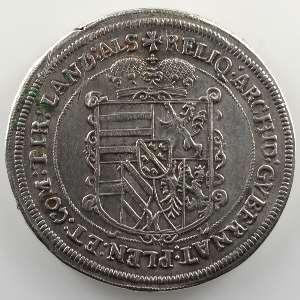 Thaler   Archiduc Léopold V (1619-1632)   1622 Ensisheim    TTB+