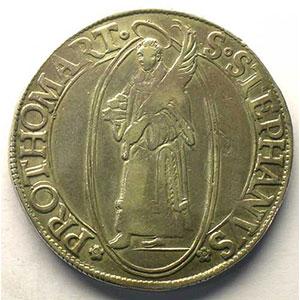 Thaler au Saint-Etienne debout   1629    TTB