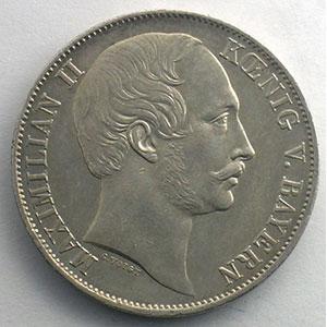 Vereinstaler   1857    TTB+
