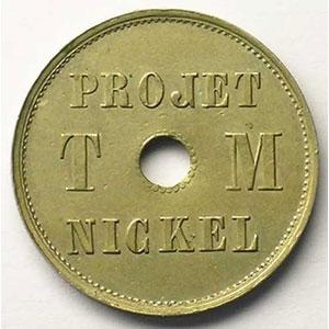 VG 4110   module 23 mm   Projet T M Nickel  4  1889    TTB+/SUP