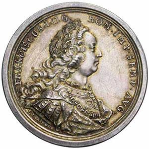 Werner   médaille en argent   44mm   13 sept. 1745    SUP