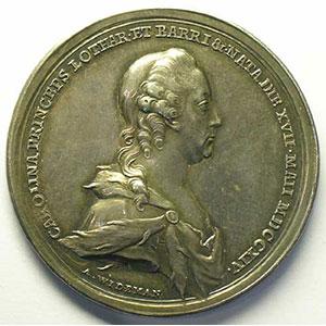 Wideman   Médaille en argent   43mm   1773    SUP
