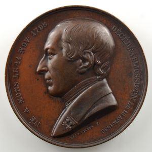 WIENER L.   Baron de Reiffenberg   1850   bronze   45mm    SUP